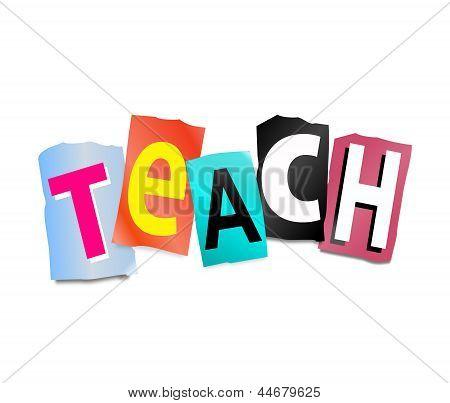 Teach Concept.