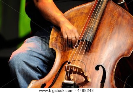 Double Bass Player - Classic Jazz