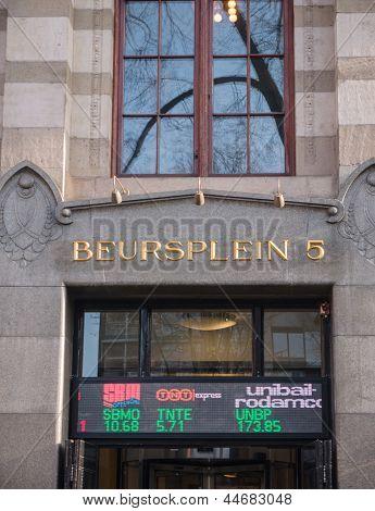 Amsterdam Stock Exchange Building