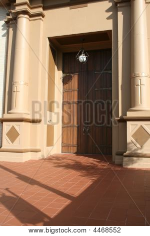 Beautiful Church Entry