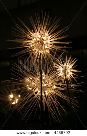 Spiked Flower Lights