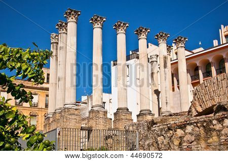 Ancient Roman temple