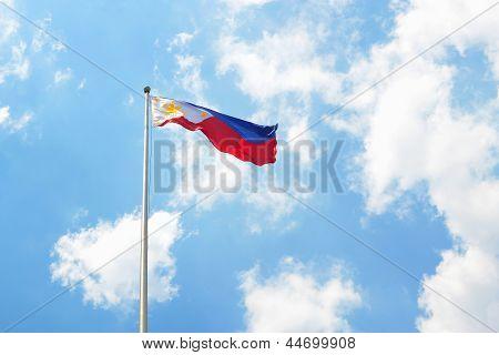 Philippine Flag Landscape