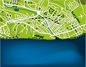 foto of olympiade  - Cartoon map of Sochi - JPG