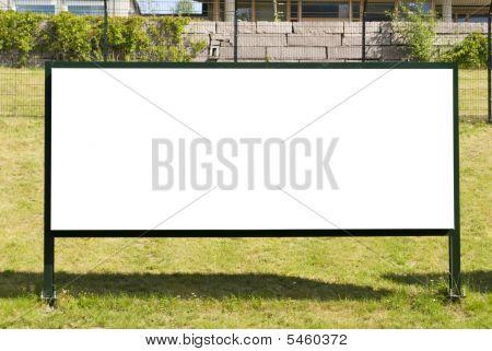 Big  Blank Outdoor Billboard
