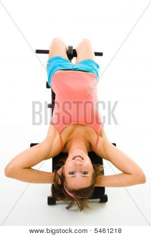 Exercising On Prelum Bench