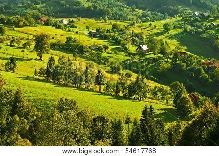 Rural Transilvania