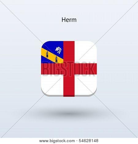 Herm flag icon