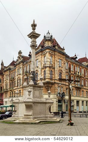 Square In Front Of Bernardine Church, Lviv, Ukraine