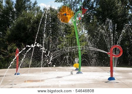Water Garden With Trick Fountains