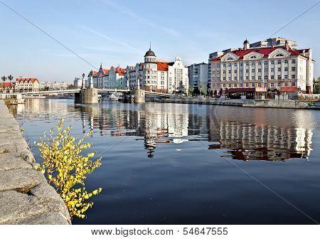 Fishing Village - Ethnographic, Trade And Handicraft Center. Kaliningrad (until 1946 Koenigsberg)