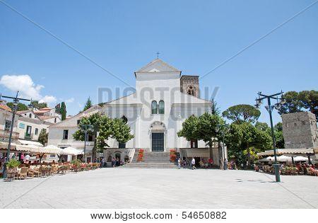 Ravello's Dome In The Amalfi Coast, Italy