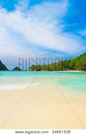 Hideaway Scene Lagoon Seascape
