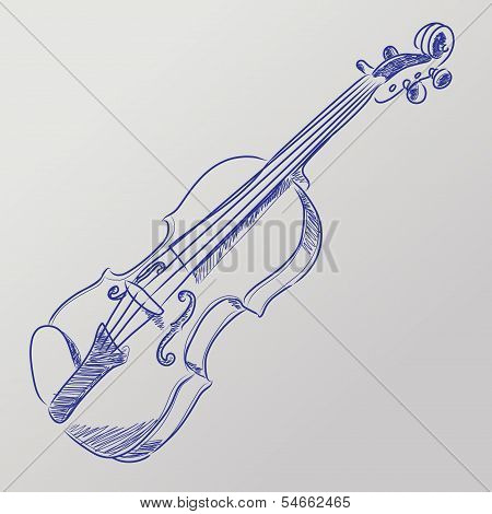 Vector Sketched Violin