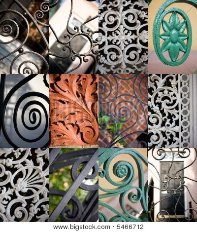 Scrollwork Of Charleston