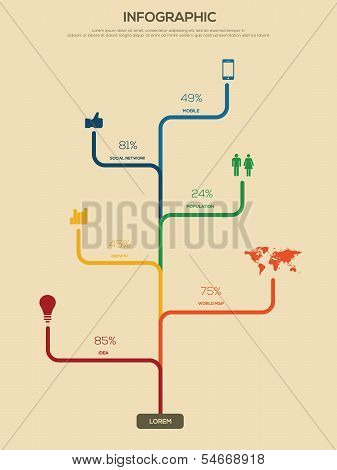 Infographics design. Information Graphics