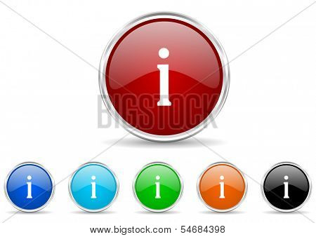 information icon set