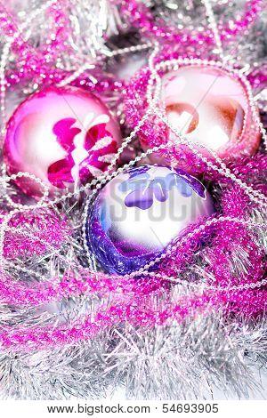 Tinsel Christmas Ball