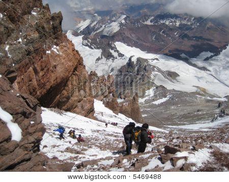 Aconcagua- 22,000 Feet