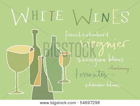 White wines varieties