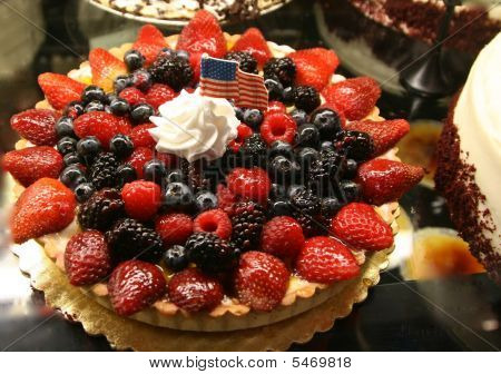 Pie of berries