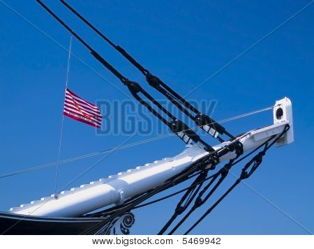 Bow of USS Constitution