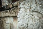 picture of building relief  - Ancient bas - JPG