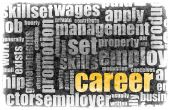 stock photo of human resource management  - Career Employment of Job in Recruitment Industry - JPG