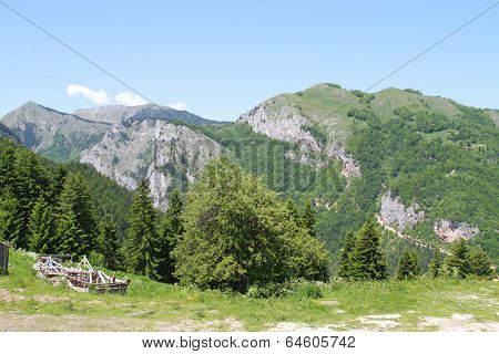 Beautiful hills in Rugova valley