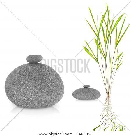 Zen Garden Abstract