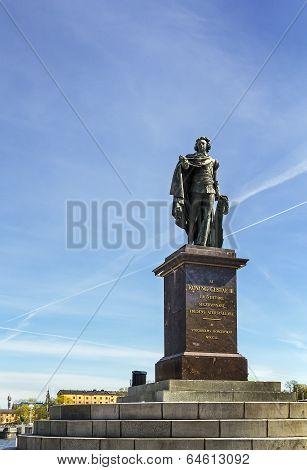 Statue Of King Gustav Iii, Stockholm