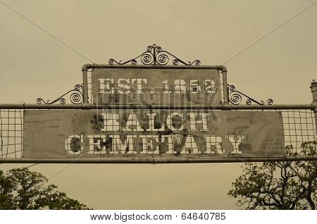 Balch Cemetary