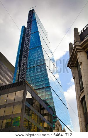 LONDON, UK - APRIL 24, 2014  City of London one of the leading centres of global finance, headquarte