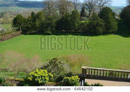 Powis castle garden