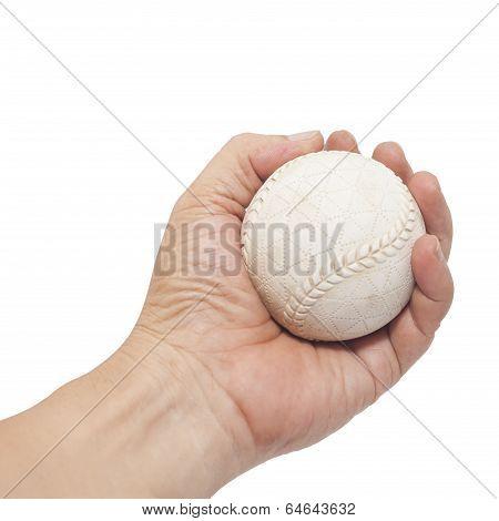 Baseball In Hand