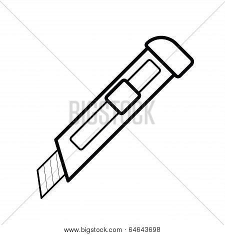 Cutter Outline Vector.eps