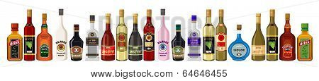 Banner Alcoholic Beverages.