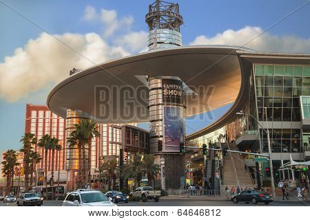 Fashion Show Mall In Las Vegas, Nevada.