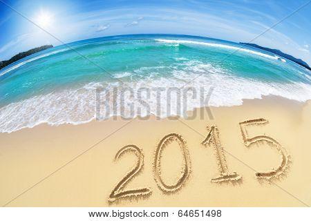 2015 on sand beach
