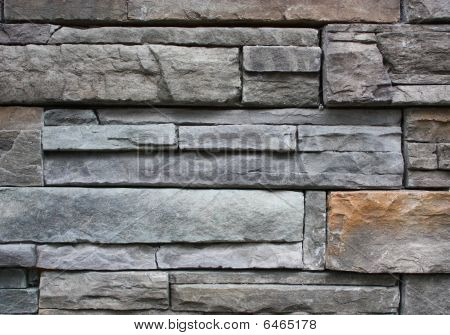 Stone slate wall background