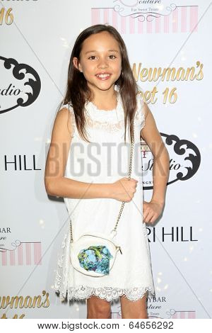 LOS ANGELES - APR 27:  Breanna Yde at the Ryan Newman's Glitz and Glam Sweet 16 birthday party at Emerson Theater on April 27, 2014 in Los Angeles, CA