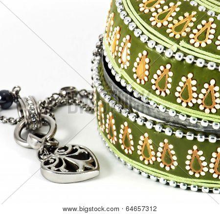 Detail Of Jewellery Box