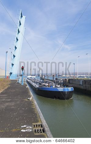 Ship Entering Sluice