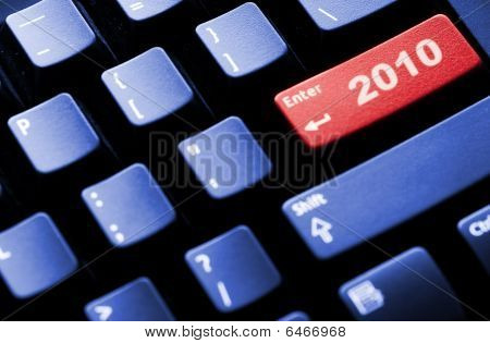 New Year 2010 Business Concept