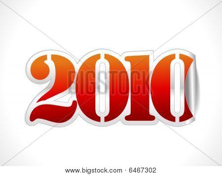 2010 sticker