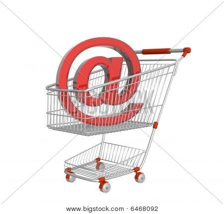 virtuelle Einkaufen