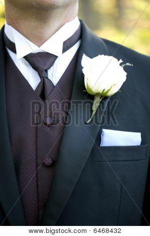 Groom's Suit Detail