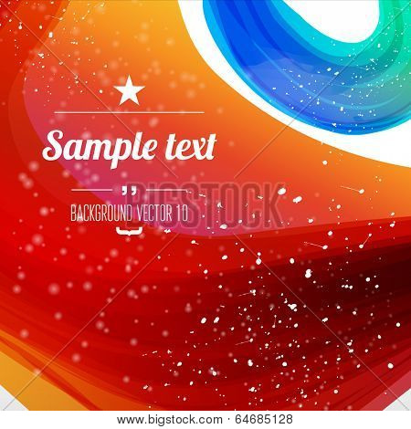 Abstract background with sparks and flashes. Vector Illustration, Graphic Design Editable For Your Design.