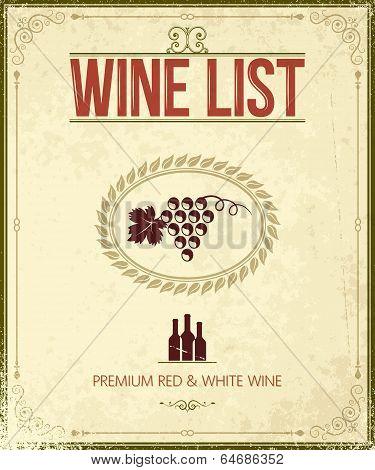 wine background illustration