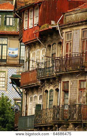 Old beautiful town in Porto ,Portugal,Europa .